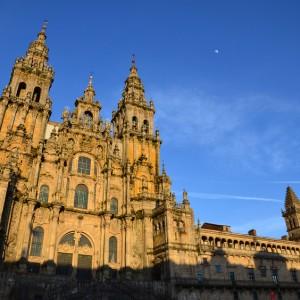 Cathedral of Santiago de Compostela in Galicia, Spain