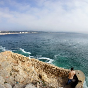 Private two day tour taking in Nazare, Portugal