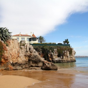 beautiful beach in Cascais, Portugal