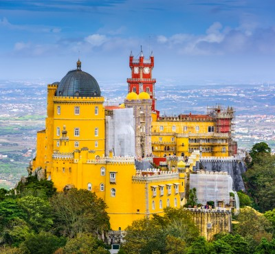 Sintra, Portugal at Pena National Palace private tour