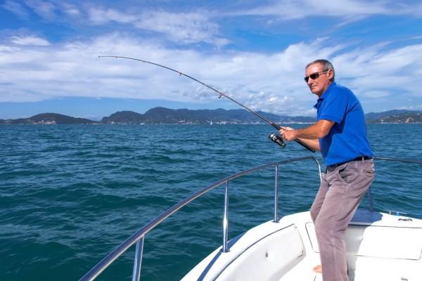 Big game sea fishing day trip in Portugal